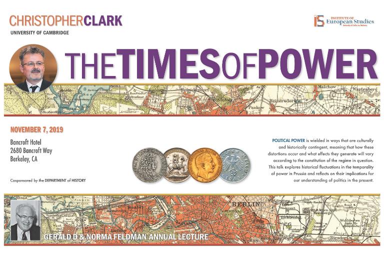 Poster of 2019 Feldman Lecture