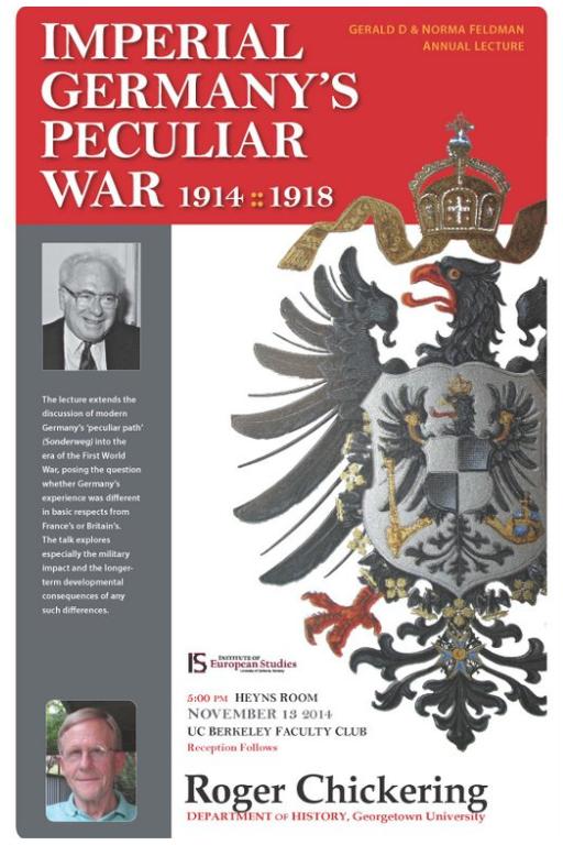 Poster of 2014 Feldman Lecture