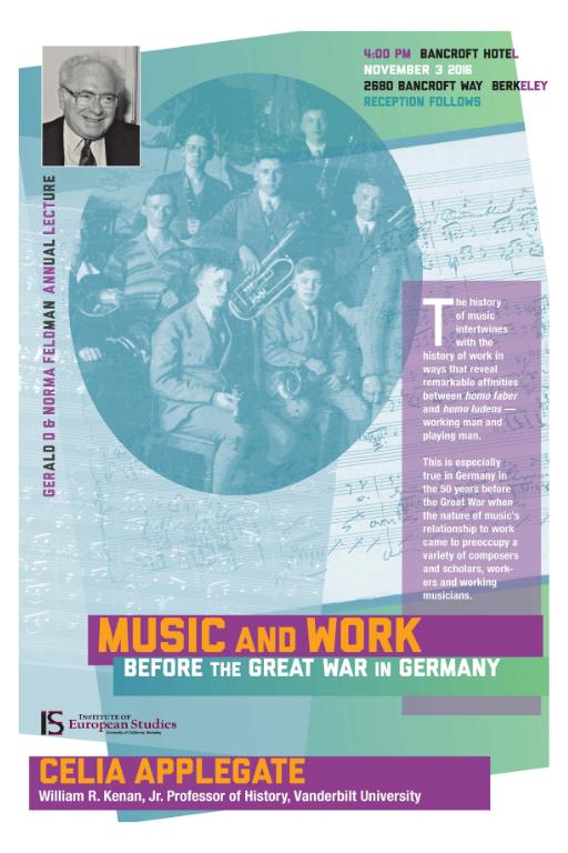 Poster of 2016 Feldman Lecture