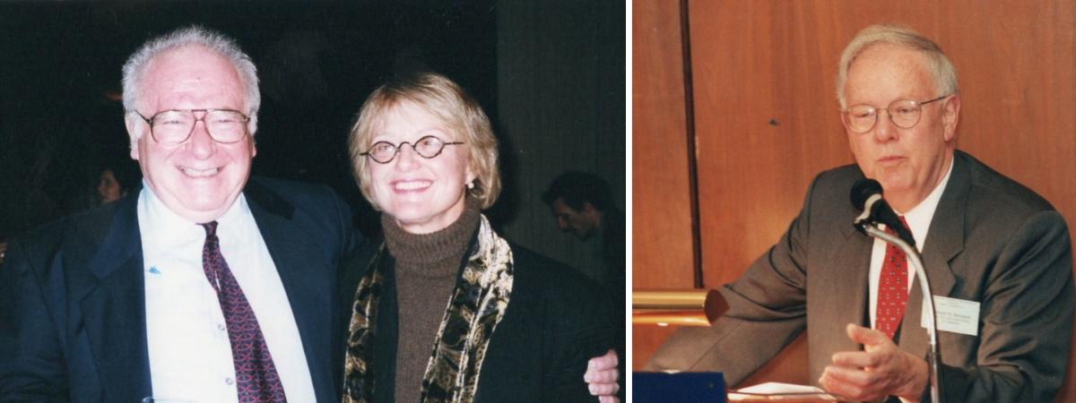 Gerald Feldman, Beverly Crawford and Richard Buxbaum