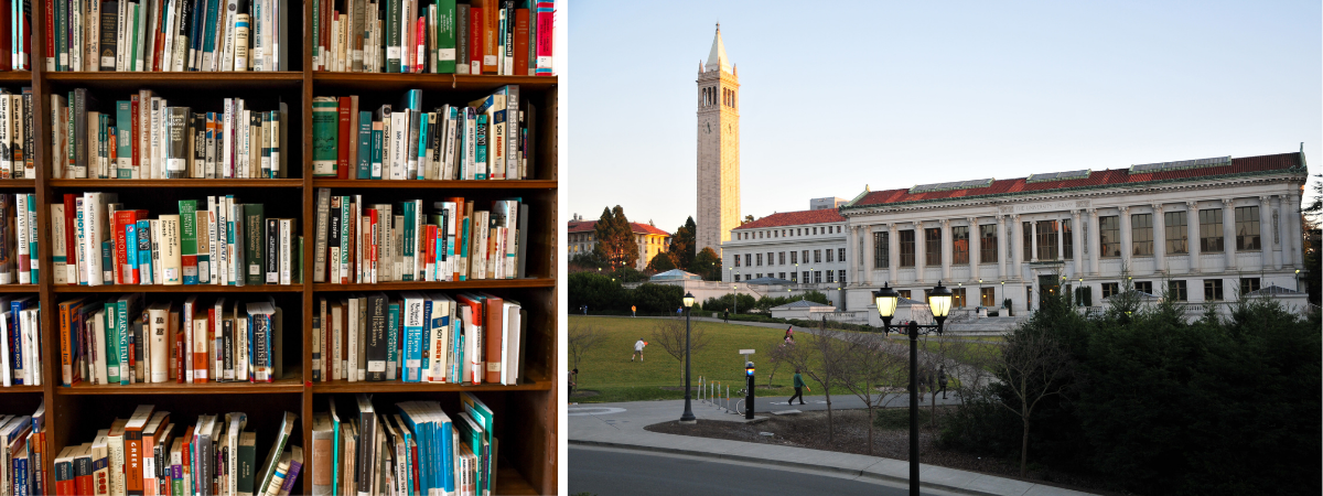 Library Books and Doe Library